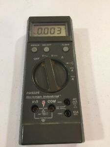 Beckman Industrial Rms225 Multimeter