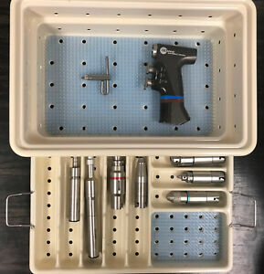 Stryker Core Set 5400 99 Micro Drill Osc Saw Universal Driver With Attachments