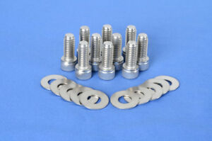 Stainless Steel Differential Cover Bolt Kit Fits Dana 30 35 44 Axle Diff Cover