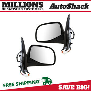 Pair 2 Power Side Mirror Fits 01 2002 2003 2004 2005 Ford Explorer Sport Trac