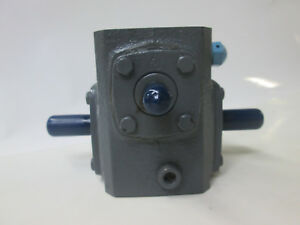 Boston Gear Reducer 710 40 h 40 1 Ratio 1750 Rpm