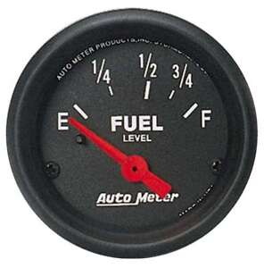 Auto Meter 2641 Gauge Fuel Level 2 1 16 0 E To 90 F Z Series