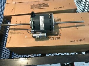 Genteq 1 2hp Double Shaft 480v Single Phase Motor 1100rpm 2 Speed