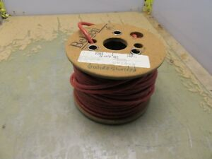 Spool Of Belden 83656 Red 18awg 6 Conductor Shielded Wire Teflon 4 a 28