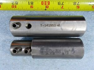 1 1 4 Od X 1 2 Id X 3 7 8 Oal Cnc Tool Bushing Lathe Mill Sleeve Adapter 2 Pc