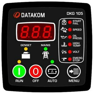 Datakom Dkg 105 Generator Automatic Mains Failure Control Panel amf