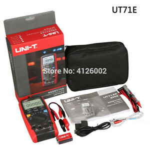 Ut71e Intelligent Digital Multimeter With Usb Interface Frequency Tester Meter