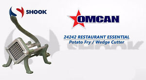 Omcan 24242 Commercial Potato Fry Wedge Cutter Potato Cutter With 3 8 Blade