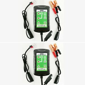 Daga Battery Charger Automatic Maintainer Dual Mode 12v 6v 1 5amp 2 pack