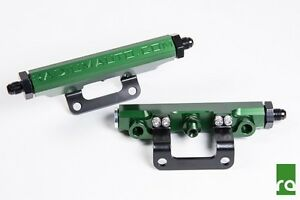 Radium Engineering Green Fuel Rail Kit For Subaru Brz Scion Fr S 20 0111 01