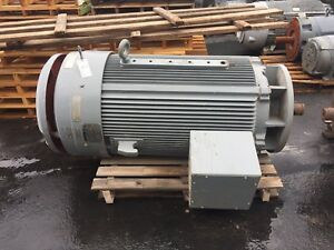 300 Hp Reliance Electric Motor 1200 Rpm 5010p Frame Tefc 4000 V Vss