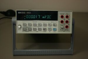 Hp Agilent 34401a Multimeter Fully Tested 30 Day Warranty