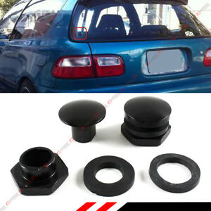 For 1992 1995 Honda Civic Eg Hatchback Rear Windshield Glass Strut Hardware Kit