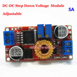 5a Dc dc Constant Current Voltage Regulator Buck Step Down Converter 5v 12v 24v