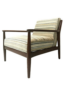 Mid Century Ib Kofod Larsen Style Lounge Chair For W J Sloane