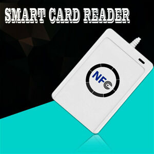 Built in Antenna Nfc Rfid Contactless Smart Reader Writer usb 5pcs Ic Cards Er