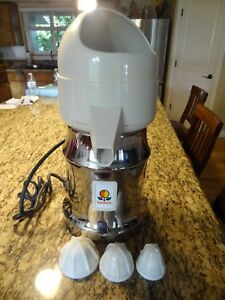 Vintage Sunkist 8 r Heavy Duty Commercial Electric Juicer Like New Condition
