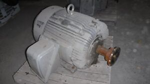 100 Hp Teco westinghouse Electric Motor 1200 Rpm 444t Frame Tefc 230 460 V
