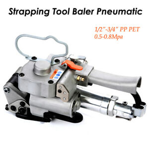 13 19mm Pp Pet Pneumatic Strapping Tool Strap Baler Fr 1 2 3 4 Bander Portable