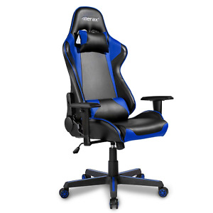 Merax Pu Leather Executive Recliner Office Chair High Back Racing Gaming Chair