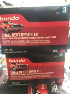 3m 1314 Bondo Small Dent Repair Kit Stage 3 Lot Of 6 Boxes
