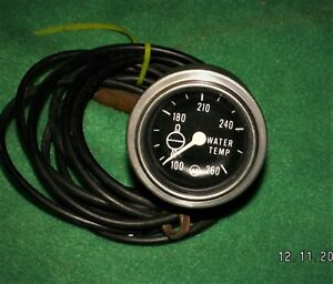 Chevy Gasser Nos Vintage Ac Temperature Gauge 2 Rat Rod Hot Rod Drag 60 s