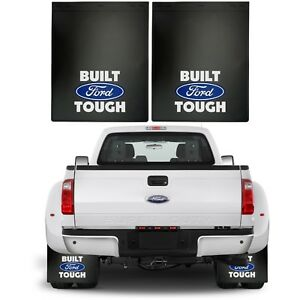 Pair Built Ford Tough Mud Splash Guards Flaps Dually 18 X 24 New Free Shipping