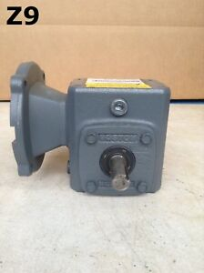 Boston Gear F7105kb4j6 Right Angle C face Gear Drive speed Reducer 0 69hp 5 1