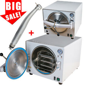 18l Medical Autoclave Steam Sterilizer Dental Equipment Pressure Sterilizers Fda