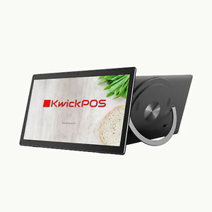 New All In One 17 Inch 1080p Ips Touch Screen Led Lcd Battery Kwick Pos Win10