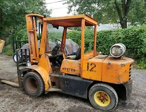 Hyster Forklift 9 000 Lbs