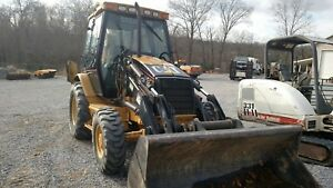 Cat 420dit Backhoe 4x4 Extdahoe Cab Ac h