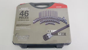 New Matco Silver Eagle 46 Piece Socket Bit Driver Set With Case 1 4 3 8 Sbs46se