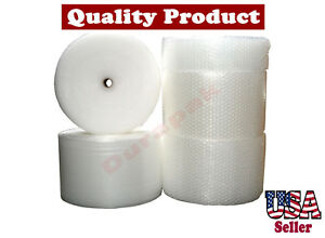 1 2 Thick 12 Wide 250 Ft Air Bubble Cushioning Wrap Protective Secure Packing