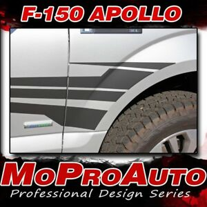 Side Fender Apollo Door Vinyl Graphic Decal 3m Stripe 2016 2017 2018 Ford F 150