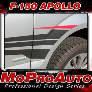 2015 2016 2017 Ford F 150 Side Fender Door Apollo Vinyl Graphic Decal 3m Stripe