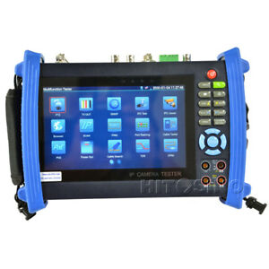 Cctv Security Ip Camera Tester Coaxial Ip Analog Ptz Monitor Ipc 8600movt Plus
