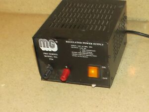 Mg Regulated Power Supply Pro Series Model No Ps6