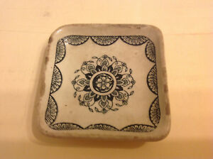 Very Old Pottery Dish with markings but unknown origin
