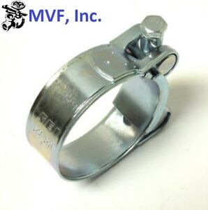 One Bolt Hose Clamp T Bolt Zinc Plated 17 19mm 11 16 3 4 New