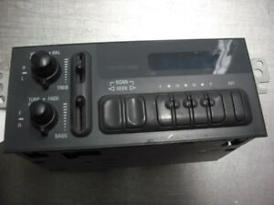 Audio Equipment Radio Am Mono fm Stereo Fits 95 Caprice 14134