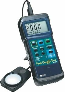 Extech 407026 Light Meter Fc lux Heavy Duty W Holster