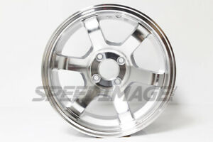 Rota Grid Concave Wheels Royal Silver 15x8 4x100 20 Offset For Eg Civic Miata