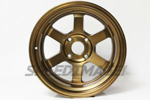 Rota Grid V Wheels Sport Bronze 16x9 0 4x114 3 For Datsun 240z 280z Ae86 S13