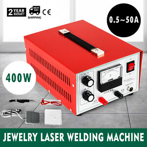 Jewelry Welding Machine Spot Welder Necklace 400w 110v Gold Silver Free Warranty