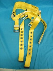 Miller Back Saver Utility Pole Lineman Climbing Gear Equipment Safety Belt