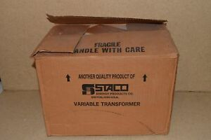 Staco Energy Products Inc Variable Autotransformer Type 2510 New c9