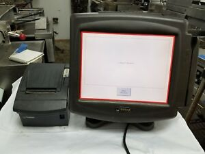 Radiant System Pos Terminal With Receipt Printer P122 With Windows Xp