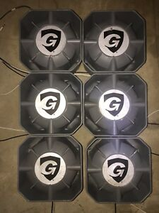 Wow Lot Of 4 New Galls Concealment Sk145 100 Watt Speaker New