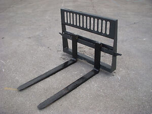 Bobcat Skid Steer Attachment New Hd 48 5 500 Pound Pallet Forks Ship 149
